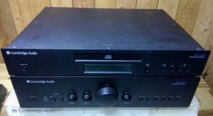 Cambridge Audio Azur 640A Amlifier và CD AZUR 340C